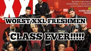XXL FRESHMAN CLASS LIST REVIEW - WORST EVER!!!!! - FAMOUS DEX DIDN'T MAKE IT!!!!! - MY REVIEW