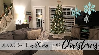 Decorate for Christmas With Me 2018 | Christmas Decorating | Christmas Decor