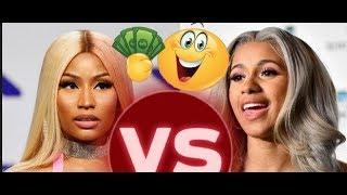Cardi B REACTS RESPONDS to Barbz (Nicki Minaj) Trolling Her w Allegations n Disliking 'Money' Single