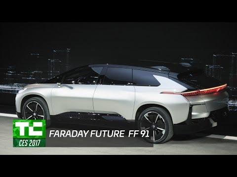 Faraday Future unveils the FF 91