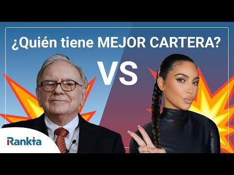 En este vídeo vemos los diferentes activos que tiene en cartera la famosa celebrity Kim Kardashian y la comparamos con las del mítico inversor Warren Buffett.
