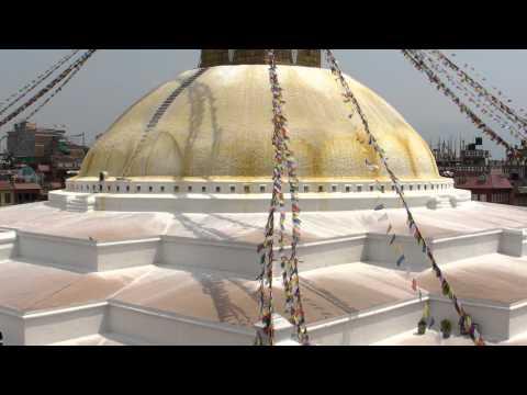 SANY0751.MP4 BoudhaNath Stupa Movie