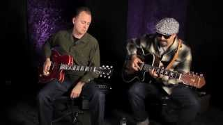 Kid Ramos and Tommy Harkenrider Blues Guitar Lesson video!