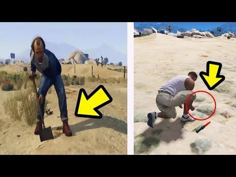 GTA V - O que o Trevor enterra no deserto de Sandy Shores?
