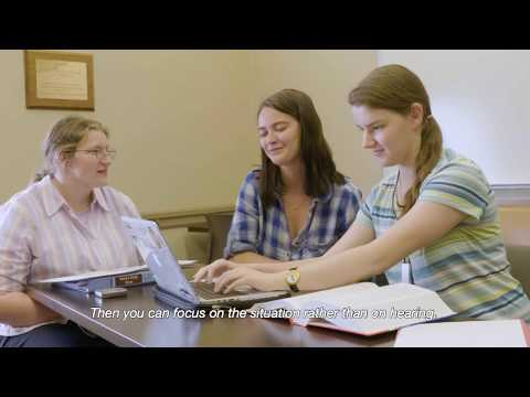 Hearing Loss at College: Technology to Help You in School - Commercial