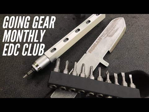 JULY Going Gear Monthly EDC Club: 2 Very Functional Items - Driver and Pry Bar