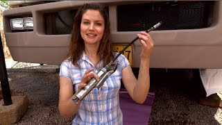 RV Living: How to grease your RV Motorhome's mechanics