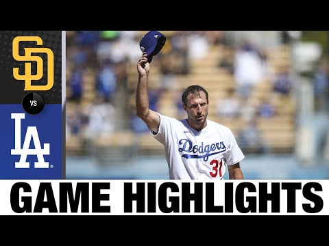 Padres vs. Dodgers Game Highlights (9/12/21)   MLB Highlights
