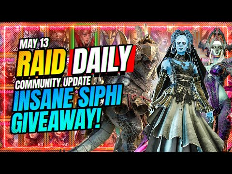 This Giveaway is INSANE! Don't Miss It! | RAID Shadow Legends
