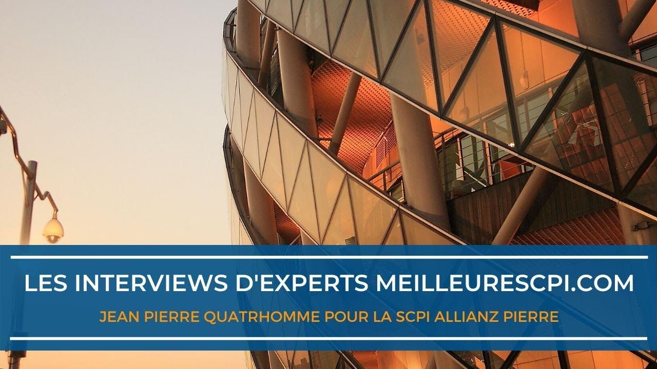 Les interviews d'experts MeilleureSCPI.com - Jean Pierre Quatrhomme - Immovalor Gestion