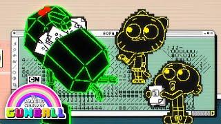 Gumball | Cyberspace Hack | Cartoon Network
