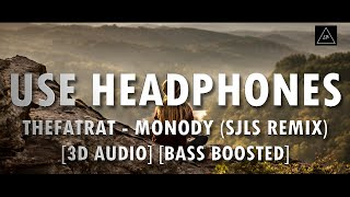 3D Audio (Bass Boosted) | TheFatRat - Monody (Ft. Laura Brehm) (sJLs Remix) | Lazy Boys Productions