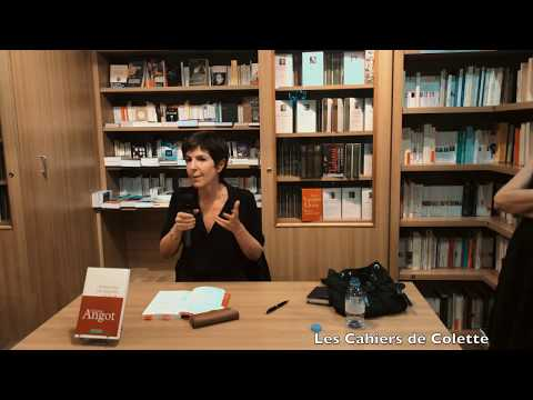 Vidéo de Christine Angot