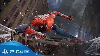 Marvel's Spider-Man   E3 2017 Trailer   PS4 Pro