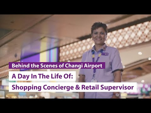 A Day In The Life Of: P-Serv Shopping Concierge & Discover Singapore Retail Supervisor
