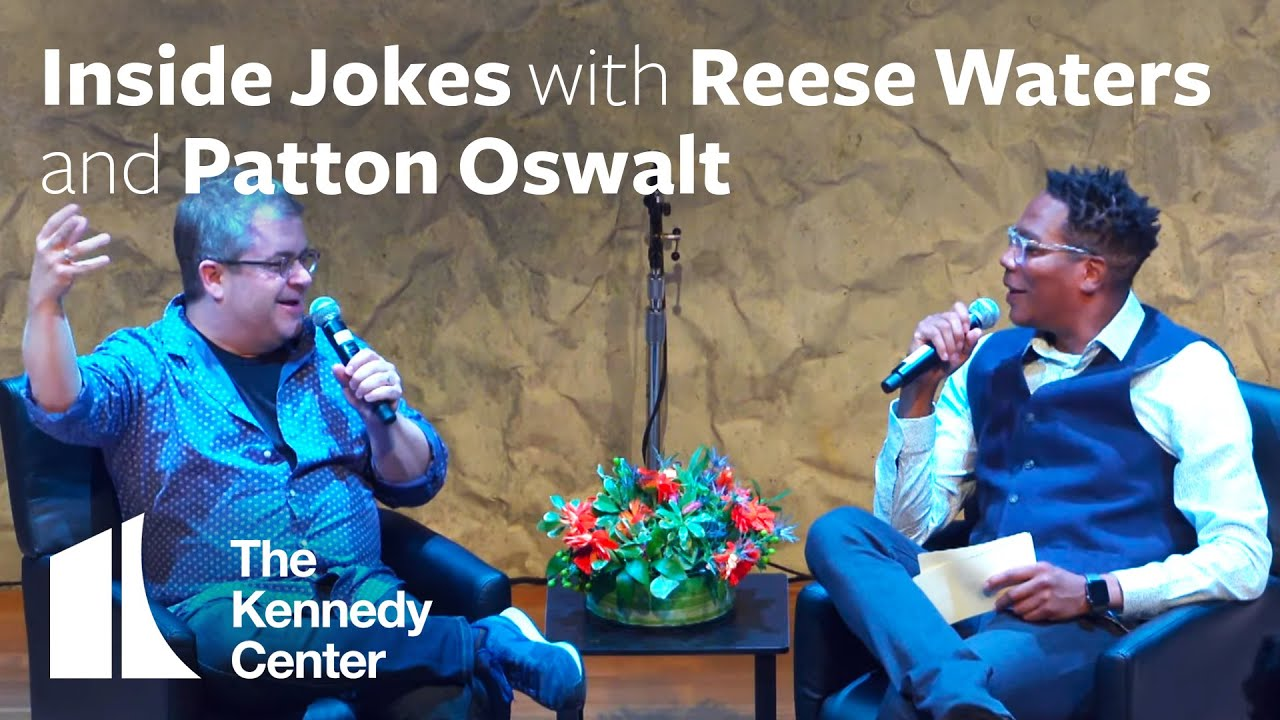 Comedy at the Kennedy Center: Inside Jokes with Reese Waters with Special Guest Patton Oswalt