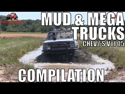 CHEVY MUD & MEGA TRUCK MUD COMPILATION 2018 VOL 05