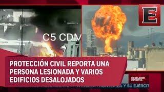 Fausto Lugo habla sobre el incendio en Eje 2 Norte