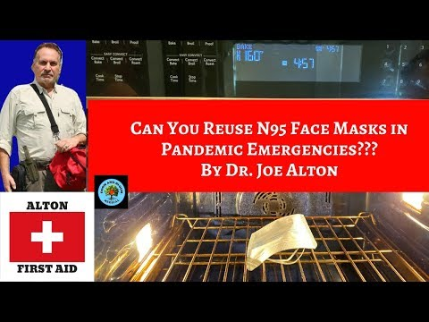 Can You Reuse N95 Face Masks During Pandemic Emergencies?? By Dr. Joe Alton