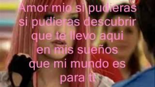 Sueña Conmigo Amor Mio Letra