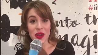 """Laura Esquivel intervista per """"Tv sorrisi e canzoni"""" - Giffoni Film Festival 2017"""