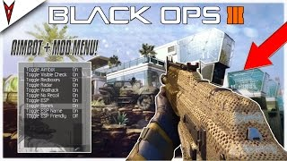 BLACK OPS 3 AIMBOT + MOD MENU GAMEPLAY | NON-HOST BO3 MODS FREE! (BO3 PS3 & XBOX 360)