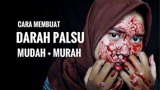 TUTORIAL MEMBUAT DARAH PALSU / DIY FAKE BLOOD mudah dan murah
