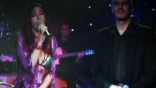 MIGUEL BOSE' biondo con Ana Torroya