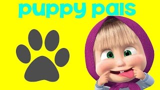 Masha And The Bear Маша и Медведь Opening Puppy Palz - Eggs and Toys TV