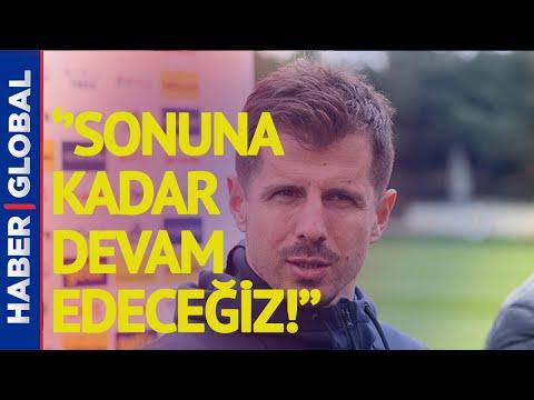 Emre Belözoğlu'ndan Maç Sonrası Flaş Açıklamalar!