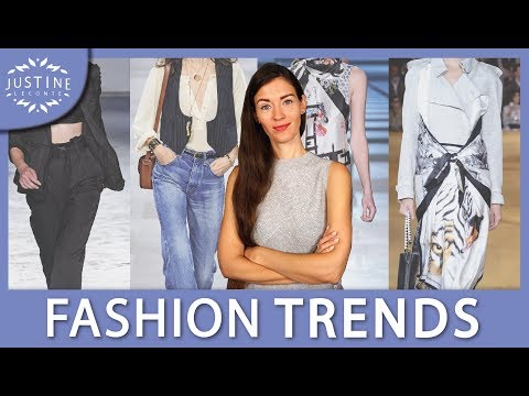 Video: FASHION TRENDS SPRING/SUMMER 2020 + how to wear them ǀ Justine Leconte