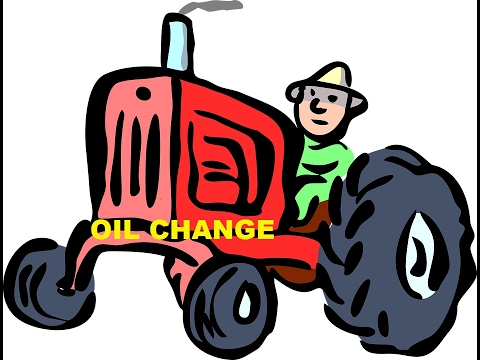 Tractor Tips And Tricks ~ Changing The Oil