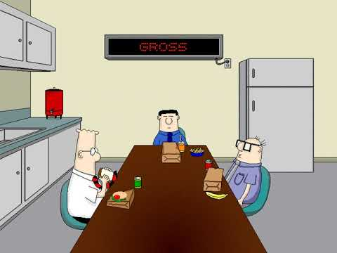 Dilbert: Screen Saver Collection (Out to Lunch) (Delrina) (Windows 3.x) [1994]