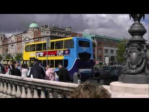Explore Nepal Banner on Dublin Buses, Ireland