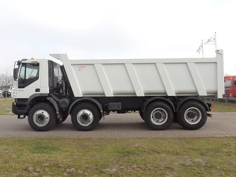 iv2460 Iveco AD410T44 with Ruizeveld rear tipper - NEW