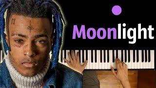 XXXTENTACION - Moonlight ● караоке | PIANO_KARAOKE ● ᴴᴰ + НОТЫ & MIDI