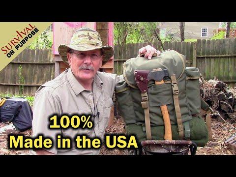 Hidden Woodsmen Forest Rucksack - 100% Handcrafted In The USA!
