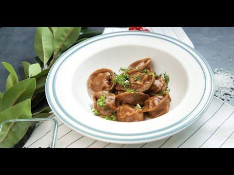 Пельмешки с мясом и солёными огурцами | Кухня по заявкам