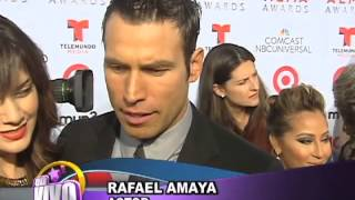 Rafael Amaya y su esposa nos cuentan acerca de su hijo