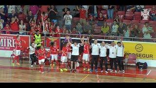 CN Futsal Fem.: Reações do Benfica à conquista do campeonato nacional