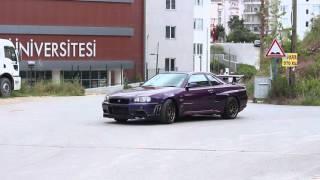 !!! Türkiye'de Tek Nissan Gtr r34 Midnight purple