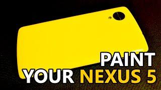 DIY - Paint a Nexus 5 Back Cover