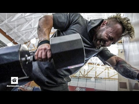 Intense Upper Back & Calves Workout | Day 5 | Kris Gethin's 8-Week Hardcore Training Program