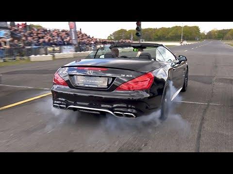 585HP Mercedes-Benz SL63 AMG – Lovely Sounds!