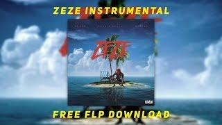 Kodak black - Zeze Instrumental Ft . Travis Scott & Offset FREE FLP Download