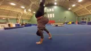 gymnastic while being pregnant ! certified fun