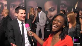 James Lafferty @ WGN's Underground Premiere | Black Hollywood Live