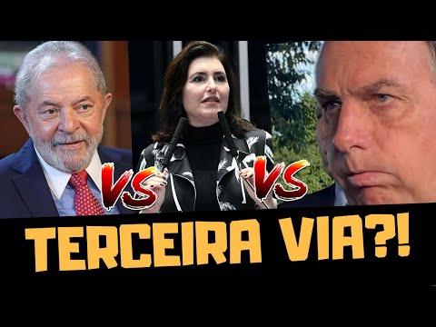 SIMONE TEBET É A TERCEIRA VIA QUE A DIREITA QUER?!