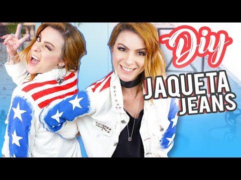 DIY :: Customizando Jaqueta Jeans – Súper Simples! Capitain America inspired.