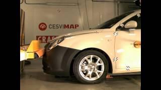 2012 Alfa Romeo MiTo Low-Speed Front & Rear Bumper Impacts (RCAR)